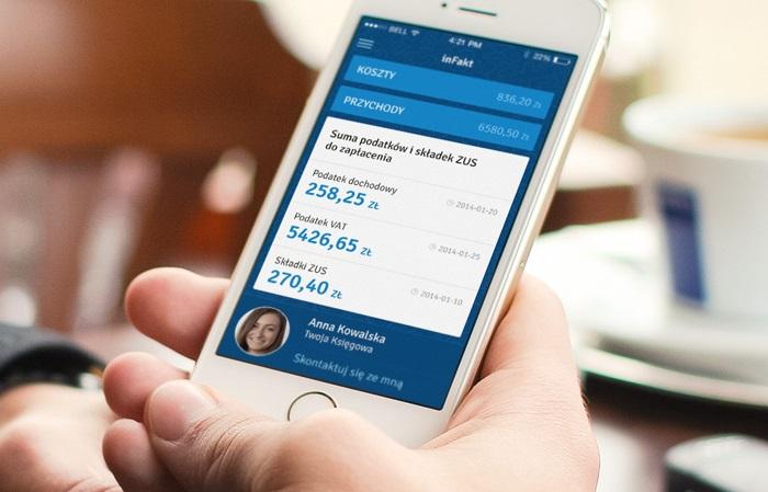 Aplikacja mobilna - księgowość w inFakcie