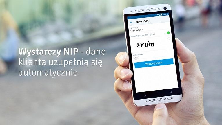 Aplikacja mobilna inFakt - wyszukiwarka danych firmowych