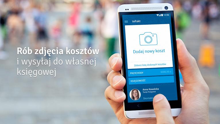 Zdjęcia kosztów inFakt na Androida