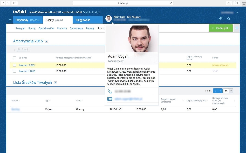 Biuro Rachunkowe inFakt – zespół księgowych i dostęp do aplikacji online