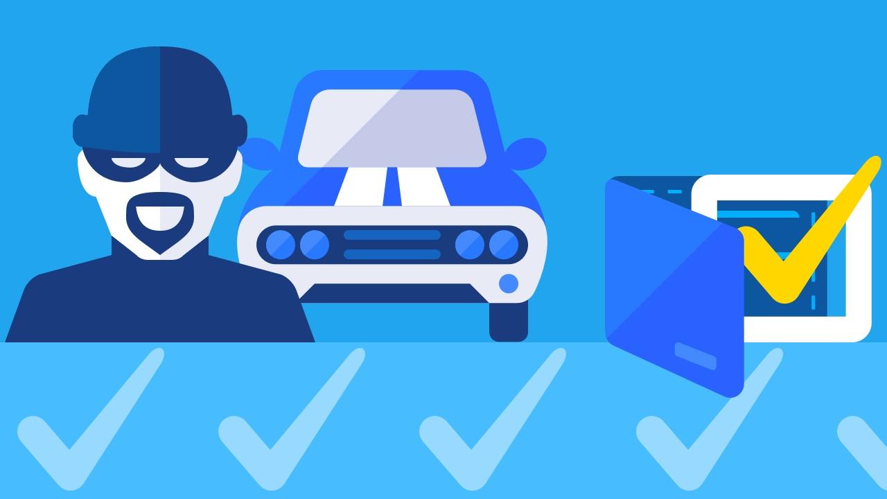 Kradzione auto zakupione do firmy