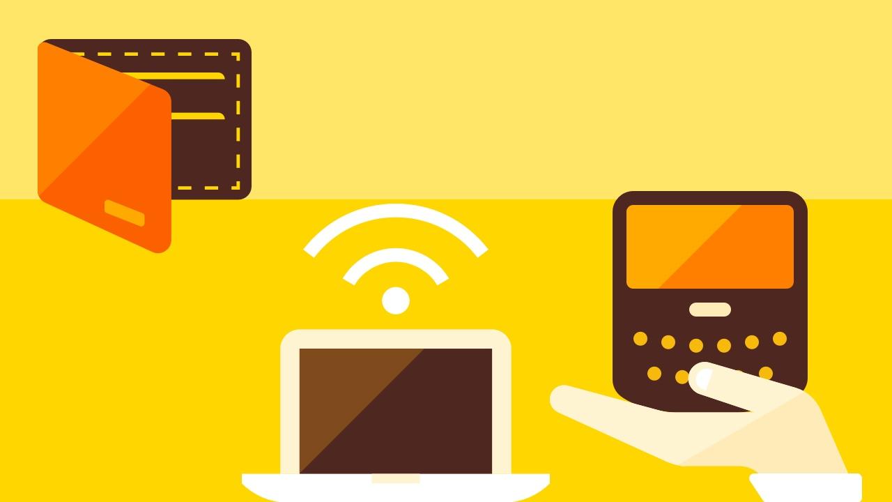 Portfel, blackberry i ultrabook