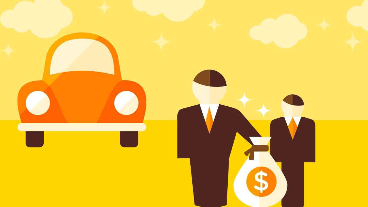 Opłata za wynajem auta