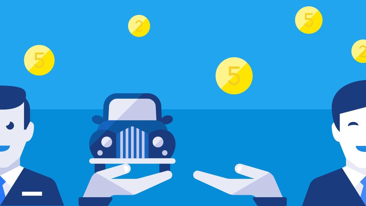 Użyczone auto koszt firmy