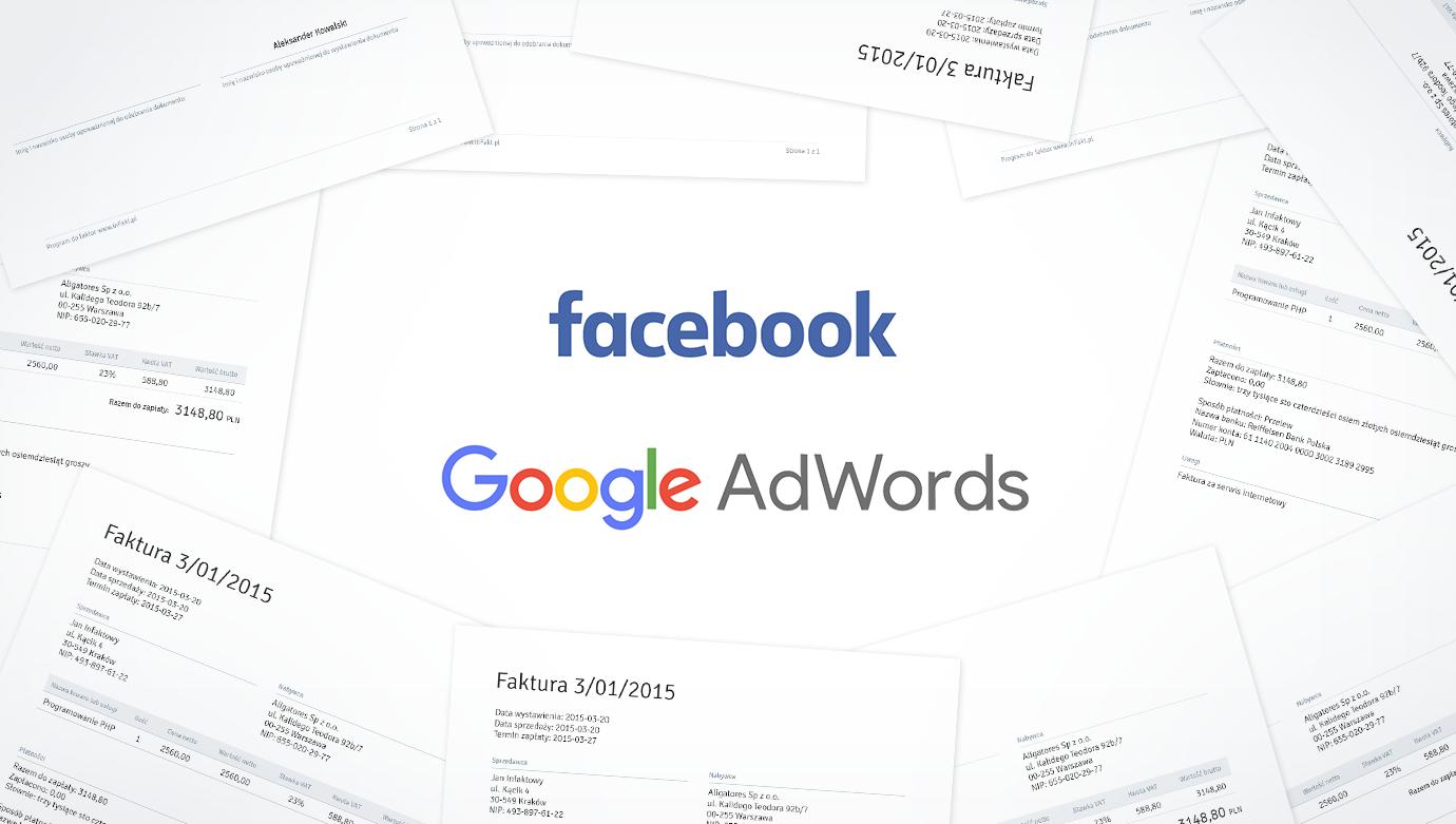 Jak Zaksięgować Faktury Z Google Adwords Oraz Facebook Blog