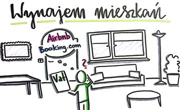 najem poprzez airbnb i booking.com a działalność gospodarcza