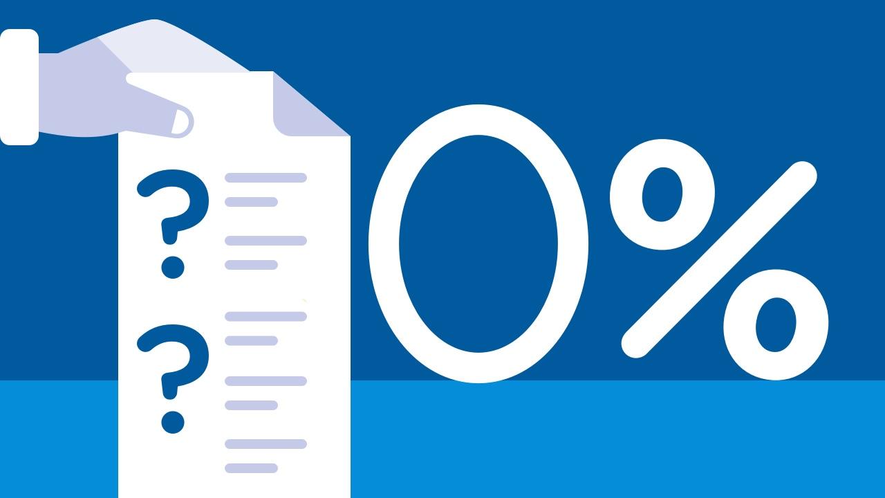 Stawka 0% na fakturze - kiedy stosujemy?