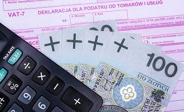 VAT według proporcji