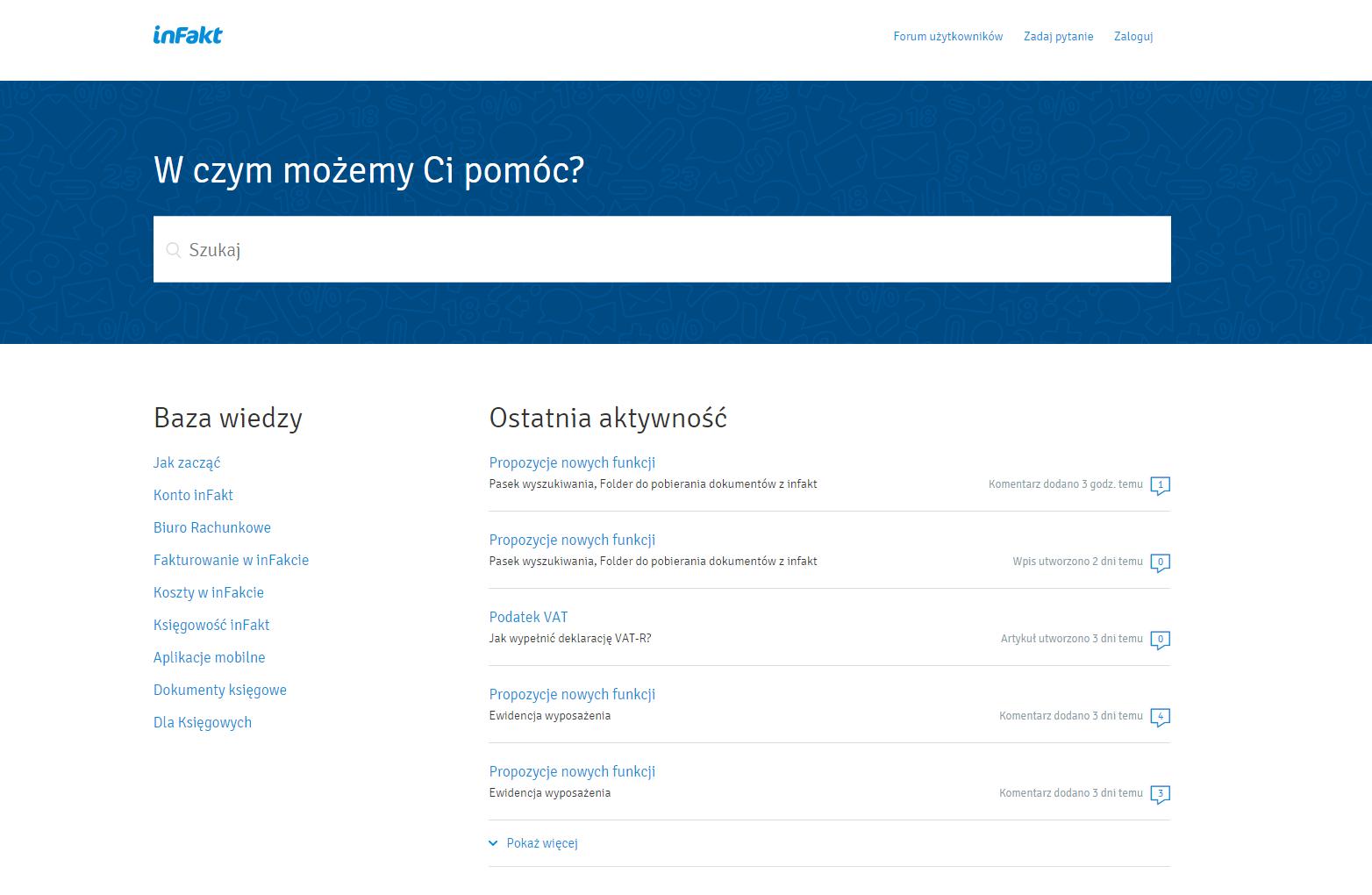 Pomoc Infakt.pl