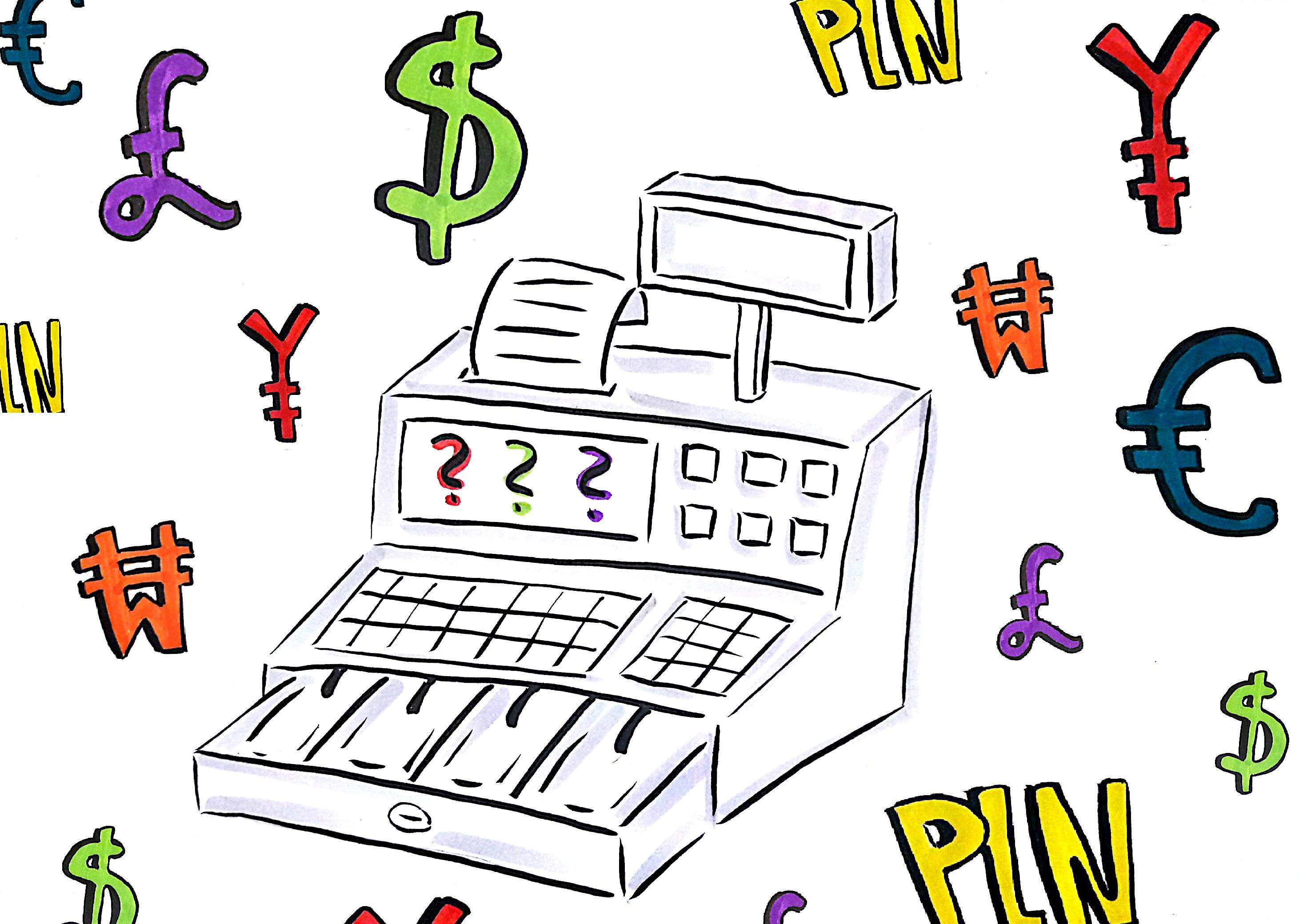 ewidencja na kasie fiskalnej w walucie obcej blog infaktpl